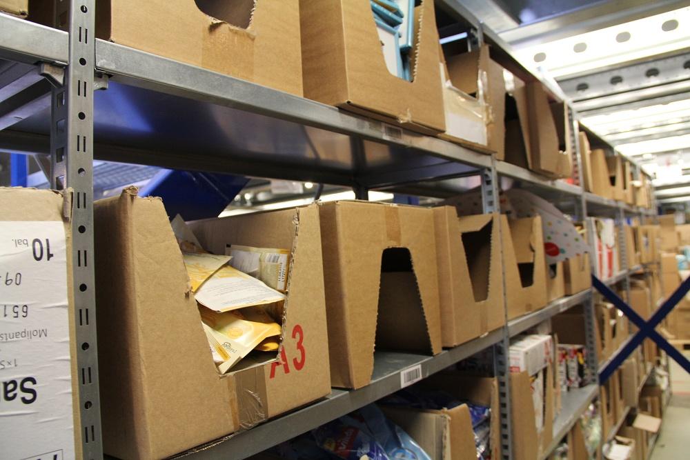Feedo sklad: Hlavní sklad, ve kterém je uloženo již naskladněné zboží. Zde jsou uloženy Feedo dárky.