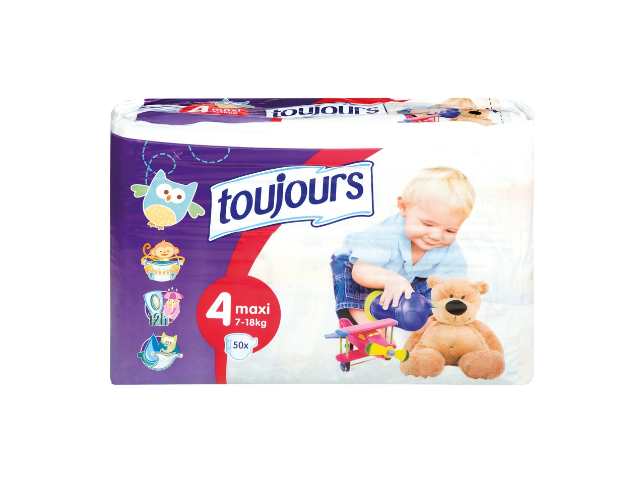 Jednorázové dětské plenky Lidl Toujours