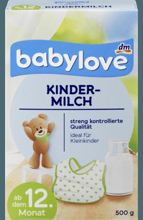 Kojenecké mléko DM Babylove Kindermilch 4