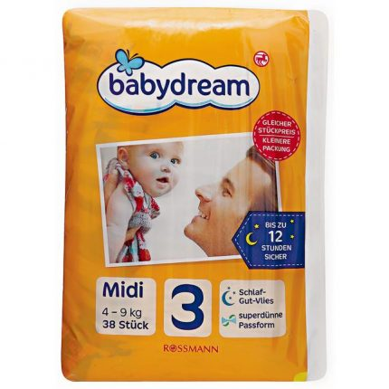 Plenky Rossmann Babydream Premium