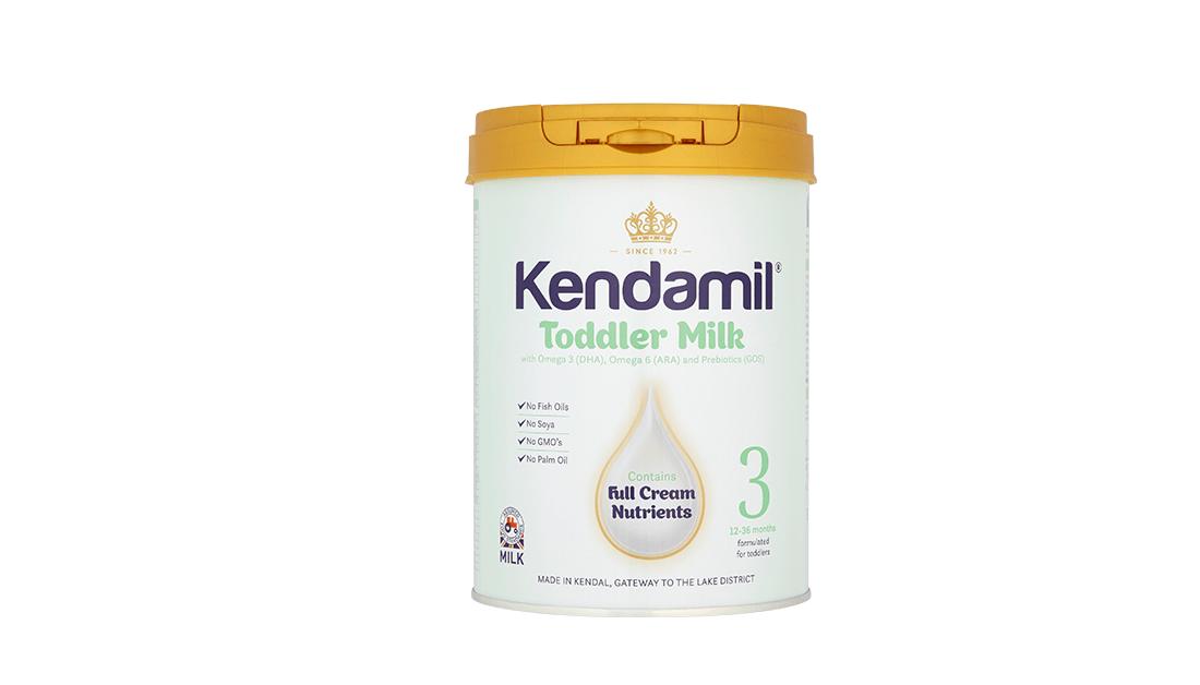 kendamil 3 batolecí mléko recenze