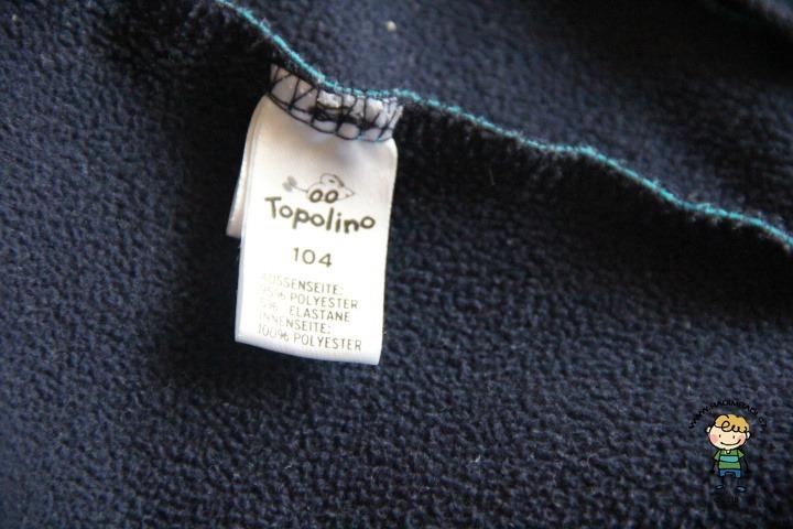 Oblečení značky Topolino.