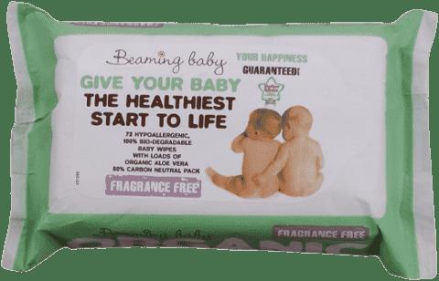 beaming baby vlhčené ubrousky