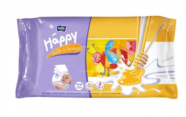 bella happy mleko a med