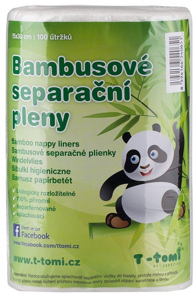 T-tomi bambusové separační plenky
