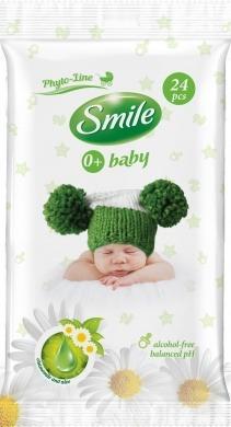smile baby vlhčené ubrousky