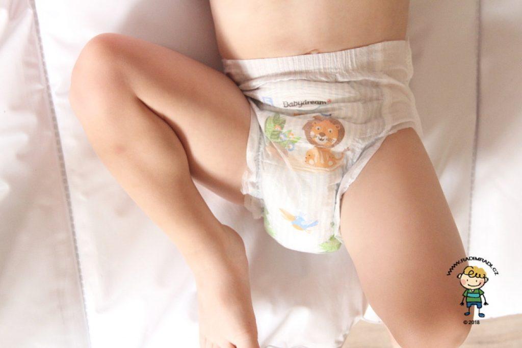 Pants Babydream z Rossmannu: Jak sedí?