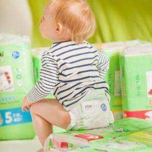 Ekologické plenky Muumi Baby.