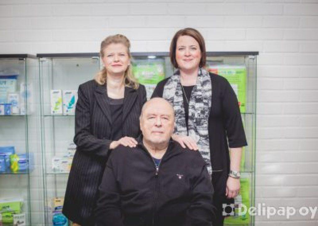 Rodinný podnik Delipap Oy.