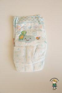 Pampers Active Baby: Jak plenka vypadá ze přední strany