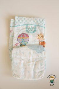 Pampers Active Baby: Jak plenka vypadá ze zadní strany