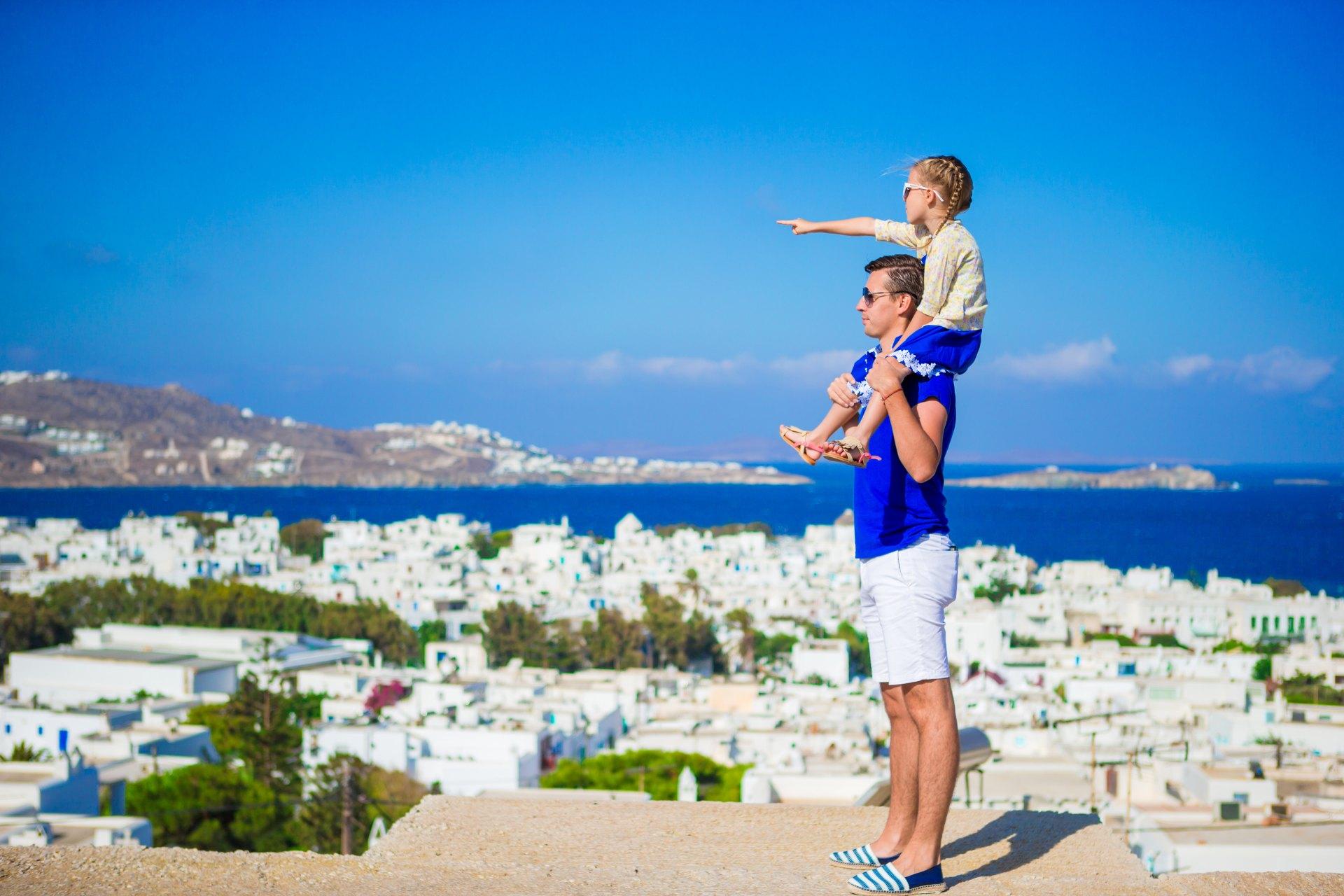 Dovolená s dětmi v Řecku